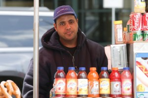 Ahmed Mohammed was fired after charging tourists $30 for hot dogs. Photo: Gabriella Bass