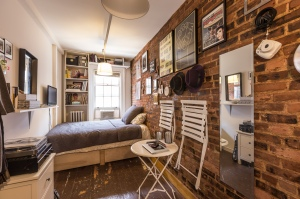 90 square feet Studio